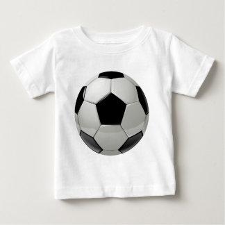 Ballon de football du football t-shirt pour bébé