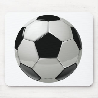 Ballon de football du football tapis de souris
