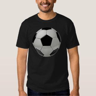 Ballon de football du football tee-shirt