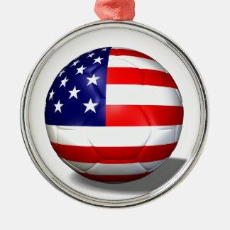 ballon de football Etats-Unis Décorations De Noël