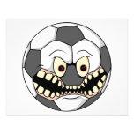 ballon de football fâché prospectus