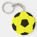 Ballon de football fait sur commande de couleur porte-clé