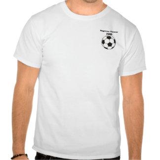 ballon de football, le football 2005 de Raptors T-shirt