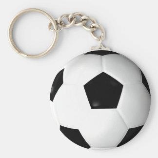 Ballon de football (le football) porte-clé rond