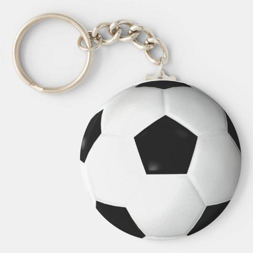 Ballon de football (le football) porte-clefs