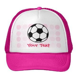 Ballon de football mignon casquettes de camionneur