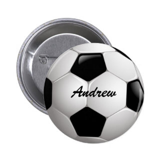 Ballon de football personnalisable du football macaron rond 5 cm