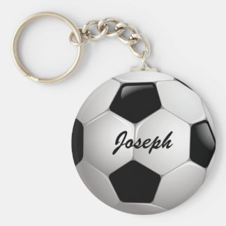 Ballon de football personnalisable du football porte-clé rond