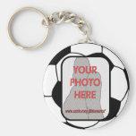 Ballon de football personnalisable Keychains de ph Porte-clé