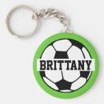 Ballon de football personnalisé Keychain Porte-clé