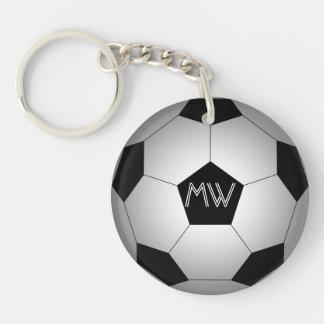 Ballon de football, personnalisé porte-clefs