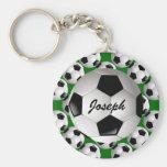 Ballon de football personnalisé porte-clé