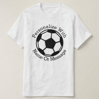 Ballon de football PERSONNALISÉ T-shirt