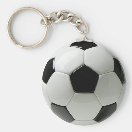 Ballon de football porte-clé rond
