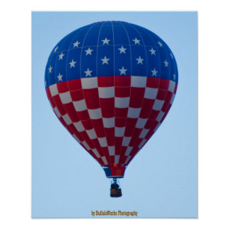 Balloon 6822 Stars and Stripes Poster