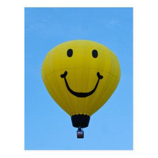 Balloon 6864 Smiley Postcard