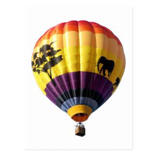 Balloon 7 postcard