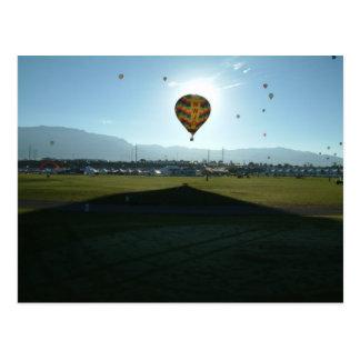 Balloon ABQ-2005-4 Postcard