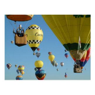 Balloon ABQ-2005-6 Postcard