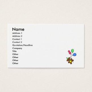 Balloon Bear Business Card