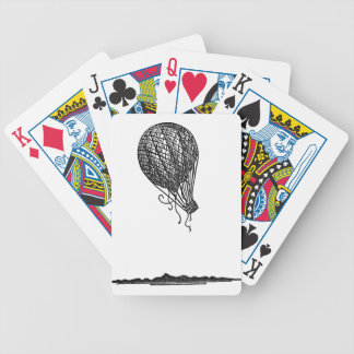 balloon bicycle playing cards