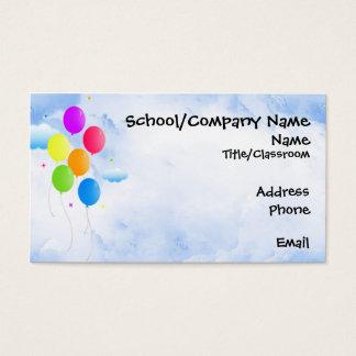 Balloon Bouquet Business Card