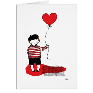 Balloon boy card
