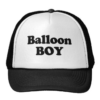 Balloon Boy Instant Costume Trucker Hat
