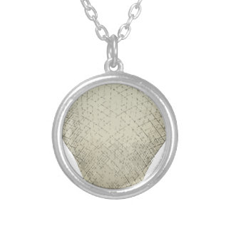 Balloon_Charles_Green_1836 Silver Plated Necklace