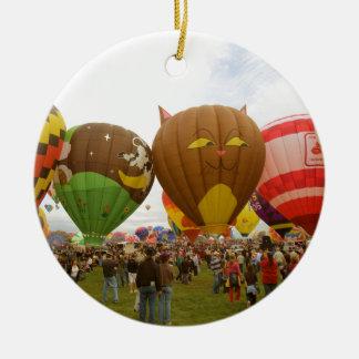 Balloon Fest Ceramic Ornament