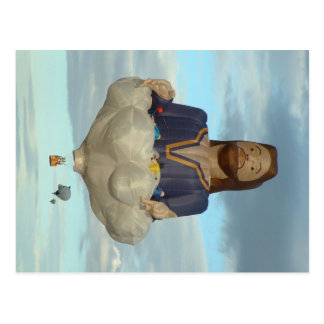Balloon Fiesta Albuquerque Jesus The Lord Postcard