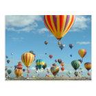 Balloon Fiesta Albuquerque Postcard