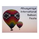 Balloon Fiesta at Dawn Postcard