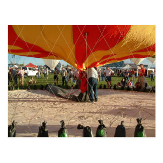 Balloon Fiesta Gas Ballooning Postcard