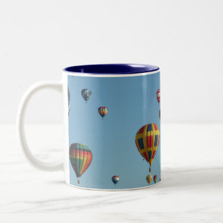 Balloon Fiesta Two-Tone Mug