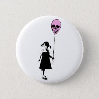 Balloon Girl 2 Inch Round Button