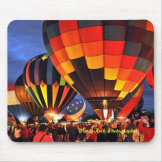 Balloon Glow Mouse Pad