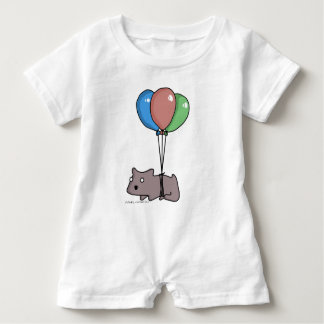 Balloon Hamster Frank by Panel-O-Matic Baby Romper