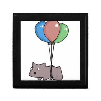 Balloon Hamster Frank by Panel-O-Matic Gift Box