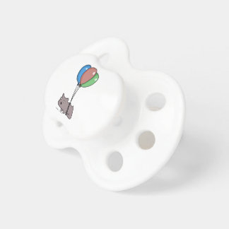 Balloon Hamster Frank by Panel-O-Matic Pacifier