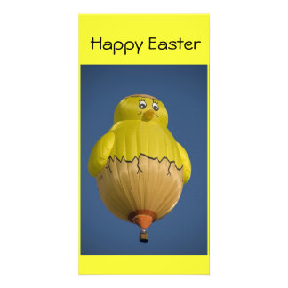 Balloon Happy Easter Photo Card Template