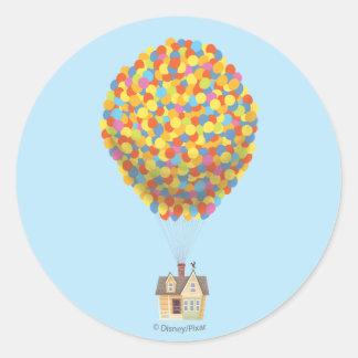 Balloon House from the Disney Pixar UP Movie Round Sticker