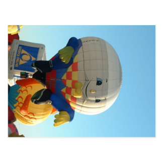Balloon Humpty Dumpty Postcard