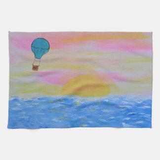 balloon kitchen towel