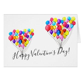 BALLOON LOVE | Happy Valentine's Day Card