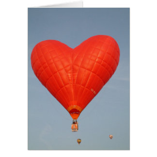 Balloon Love is in the Air Card
