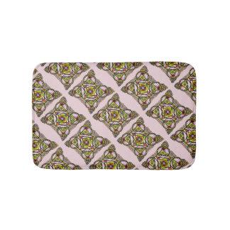 Balloon mandala bath mat cute bohemian pattern
