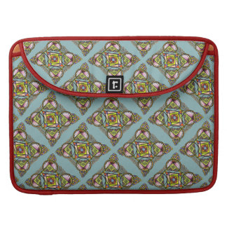 Balloon mandala laptop sleeve with cute hippie art sleeve for MacBook pro