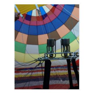 Balloon modelballon-4 postcard