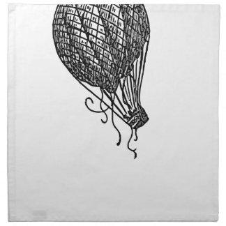 balloon napkin
